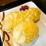 丸亀製麺 - はも天・半熟たまご天