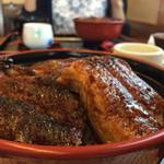 川政 - 料理写真:上うなぎ丼