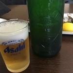 かましま - ハートランド、なぜかグラスはアサヒ