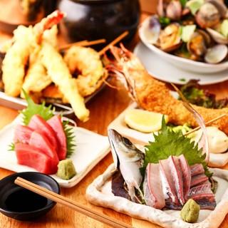 豪快な漁師料理も豊富!様々な調理法で作られた料理に舌鼓!