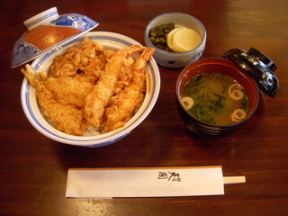 銀座 天國 本店 - お昼天丼¥1100