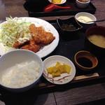 ぽっくる農園 - ミックスフライ定食
