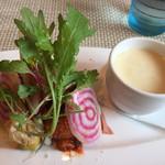 オリゾンテ - 小さな前菜とスープ