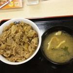 松屋 盛岡アイーナ店 - 牛めし(並)