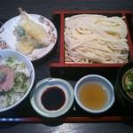 いろり - 料理写真:ねぎとろ丼ざるセット