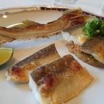 仏蘭西料理 N - 魚料理 岐阜県 郡上鮎の一品