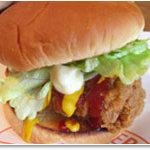 アンクル・サム - 料理写真:ビッグチキンバーガー