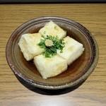 わき坂 - 揚げ出し豆腐