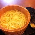 丸亀製麺 - かま揚げうどん(特大)