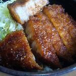 ソースかつ丼 我山 - ソースかつ丼ハーフ(ロース)