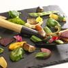 335 - 料理写真:季節野菜のポワレ