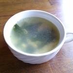 カフェレスト・ノースランド - スープ