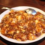中華彩館ICHISUKE - 料理写真:麻婆豆腐(小皿)