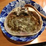 ちくま - 料理写真:蟹味噌です