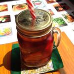 桃の農家カフェ ラペスカ - 桃の紅茶¥500