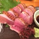 立呑み居酒屋 牡丹 - 地鶏の炙り これ オススメ(^O^)/