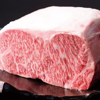 厳選されたこだわりのお肉