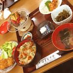 はまなす亭 - ホヤづくし定食
