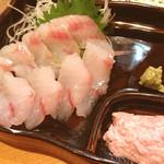 海の幸 美味 - どんこ刺身