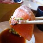 土浦魚市場 - サーモン