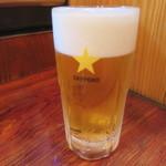 酒蔵 力 - 生ビール