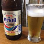 モラ・カフェ - オリオン瓶