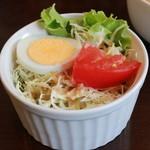 アイカフェ - とある日のAランチ(cafeご飯)サラダ