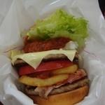モスバーガー - 東京タワーチーズバーガー