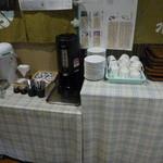 割烹食堂 水車 - セルフのコーヒーコーナー
