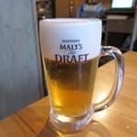 杏厨 - 生ビール