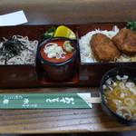 割烹食堂 水車 - 駒ヶ岳セット 1200円