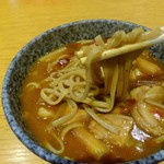 40484369 - ピリ辛カレー南の蕎麦