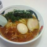 40484632 - ラーメン570円+煮玉子120円