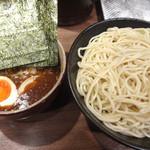達翁 - みそつけ麺(中)と味付け玉子です。