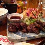 40486301 - 2015/07/29                       神戸ミニステーキ定食❤️