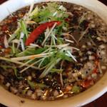 40487694 - 黒ゴマ坦々麺です