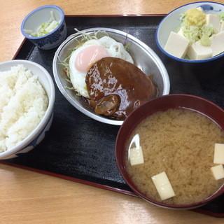 ときわ食堂 - 特別定食(600円)2015年7月