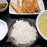 麺屋 ZETTON - 餃子定食¥650