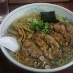 ラーメン日本一 - 料理写真:豚肉ラーメン850円
