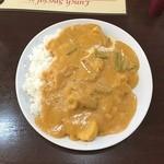 ヒマラヤインドレストラン - 日替わりカレーライスセット(野菜のカレー) ヒマラヤインドレストラン