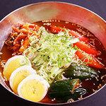 炭火焼肉じゅじゅ庵 - 焼肉の後は、さっぱり特製冷麺!