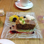 40490314 - バナナと黒ごまのケーキ