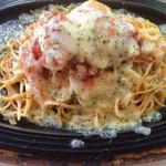 プラージュ - 噂の「チーズ焼きスパゲティ」♥️