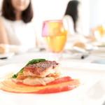 リュミエール大阪KARATO - 野菜の美食 特別ランチコース (魚) (3024円) '15 8月上旬