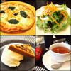 ケーズデリアネックス - 料理写真:ピザランチ 900円+プチデザート200円=1,100円