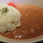 鶏と魚と野菜とMomiji - バターチキンカレー