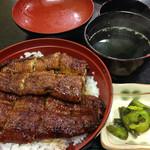 一色うなぎ - 料理写真:うなぎ丼 2100円 税込