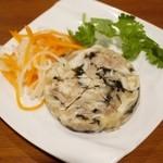 ベトナムちゃん - ミミガーときくらげの特製煮凝りハム 600円