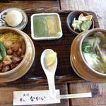 40496414 - 鶏ごぼう釜めし定食