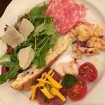 デリツィオーゾ フィレンツェ - 前菜5種盛り合わせ